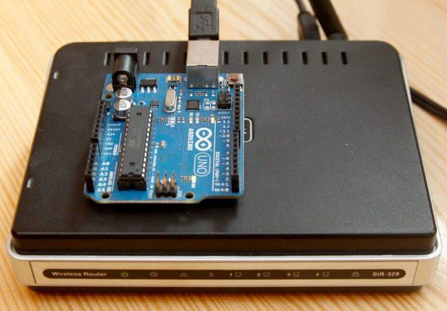 Łączenie arduino z openwrt techniczny