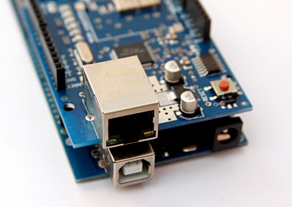 Arduino z Ethernet Shield