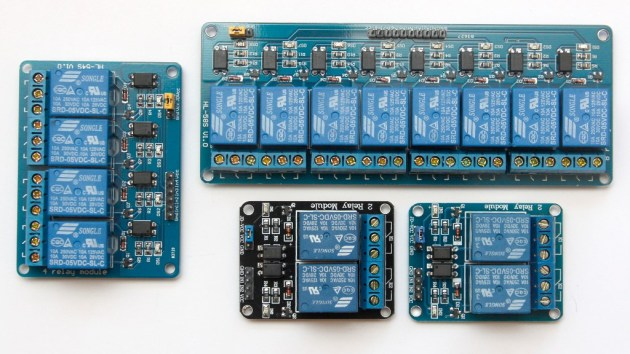 Moduły przekaźników dla Arduino