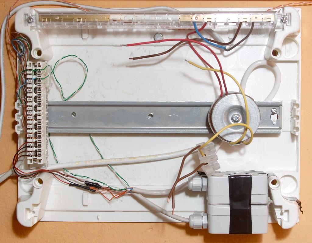Skrzynka elektryczna systemu nawadniania