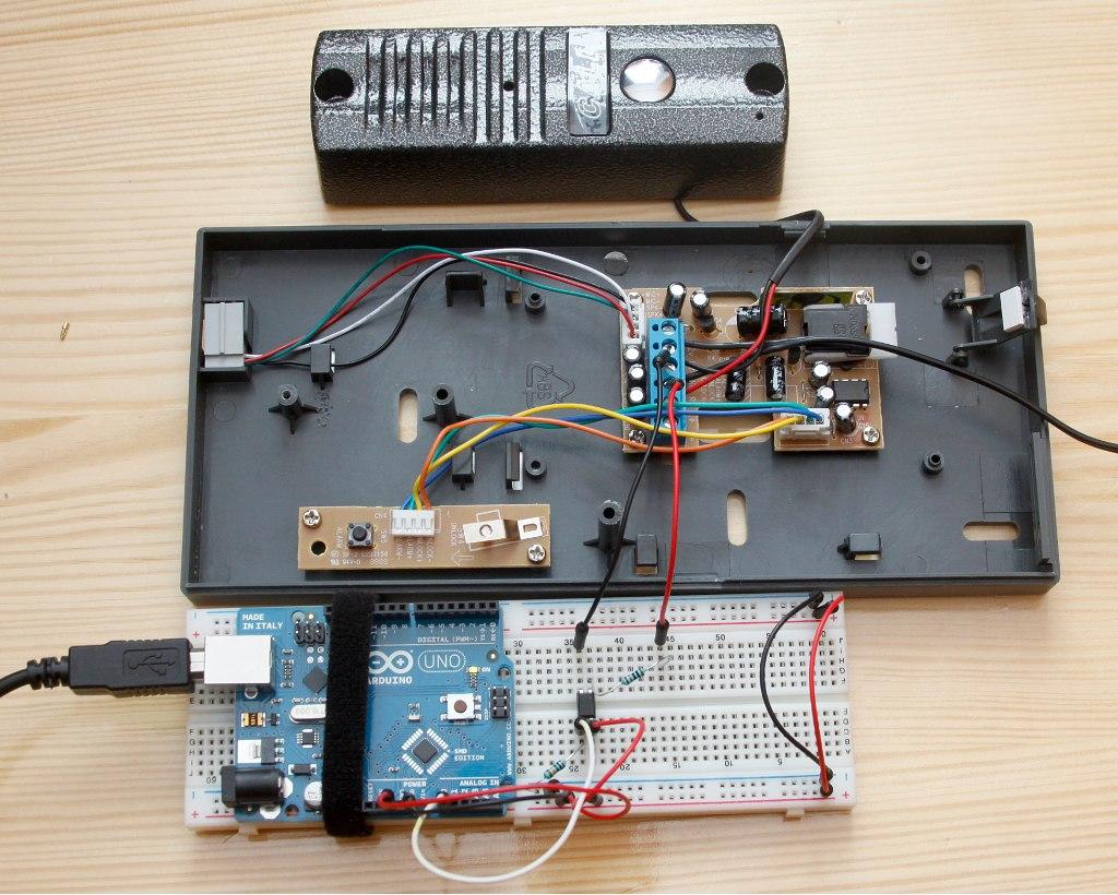 Badanie napięcia - Arduino - domofon