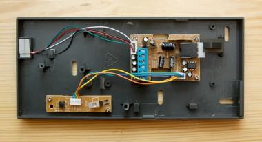 Wnętrze domofonu Eura SD720D6+AR8