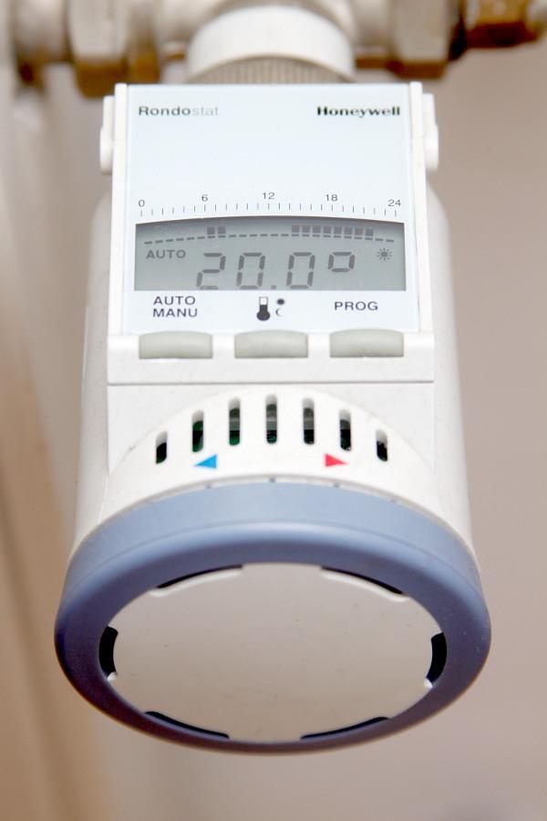 Elektroniczna głowica zaworu termostatycznego
