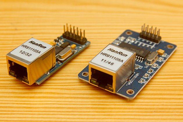 ENC28J60 w wersji 5V i 3,3V