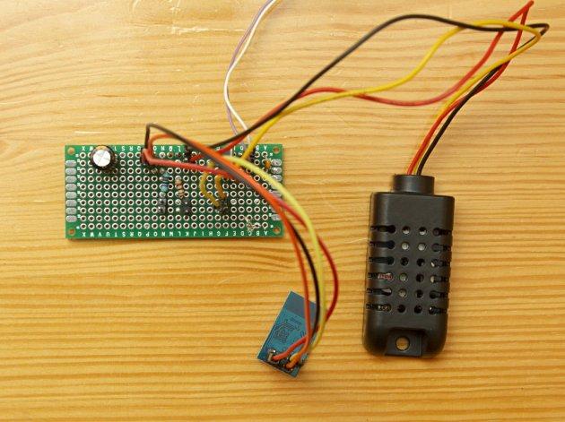 ESP8266 i DHT22