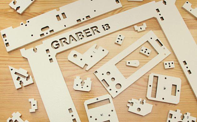 Graber i3 - elementy z MDF