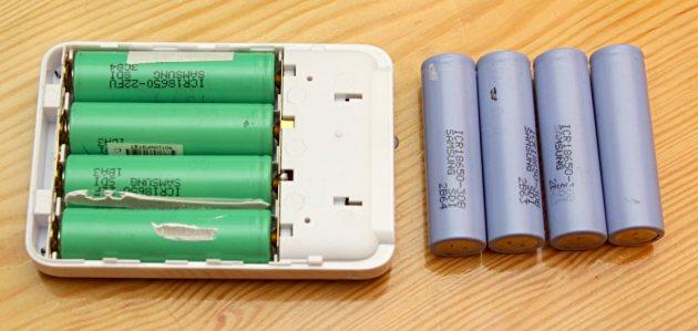 Akumulatory 18650