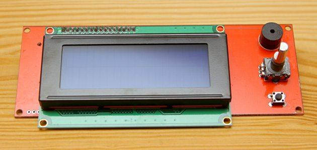 Wyświetlacz LCD dla Reprap