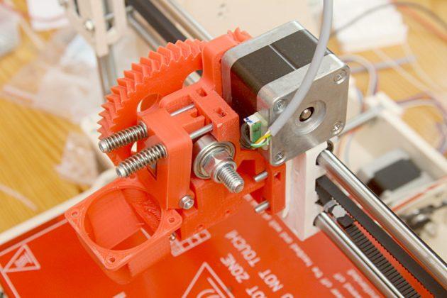 Graber i3 - ekstruder Wade od Prusy i3 rework