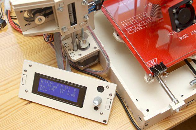 Graber i3 - panel sterujący