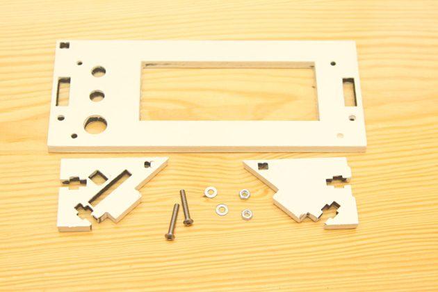 Graber i3 - obudowa LCD