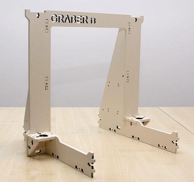 Graber i3 - konstrukcja stoi