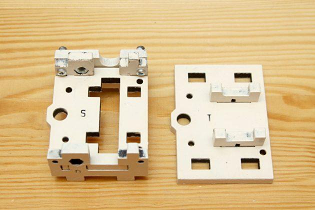 Graber i3 - uchwyt koła pasowego osi X