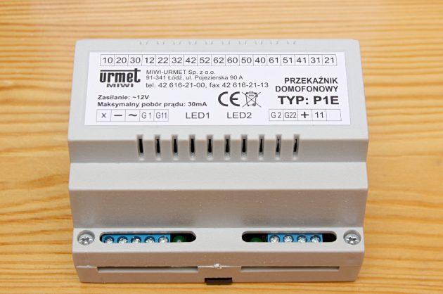 Przekaźnik domofonowy P1E