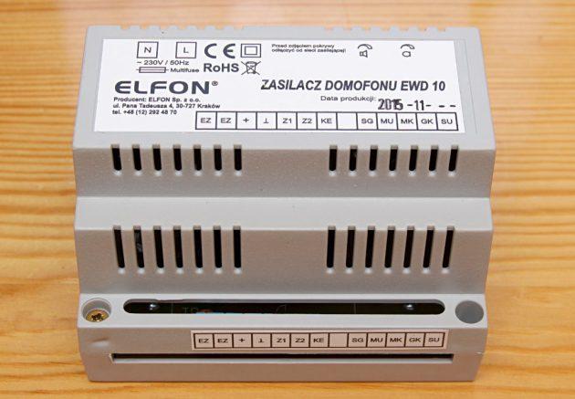 Zasilacz domofonowy Elfon EWD10
