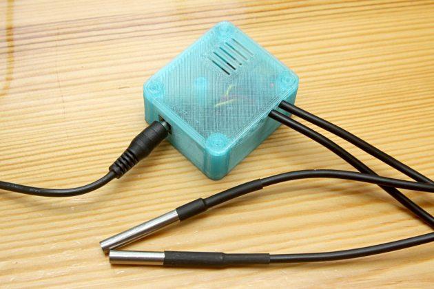 Podłączony termometr wifi