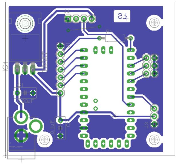Sterownik 433MHz - PCB