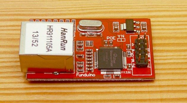 Moduł ethernet do Arduino