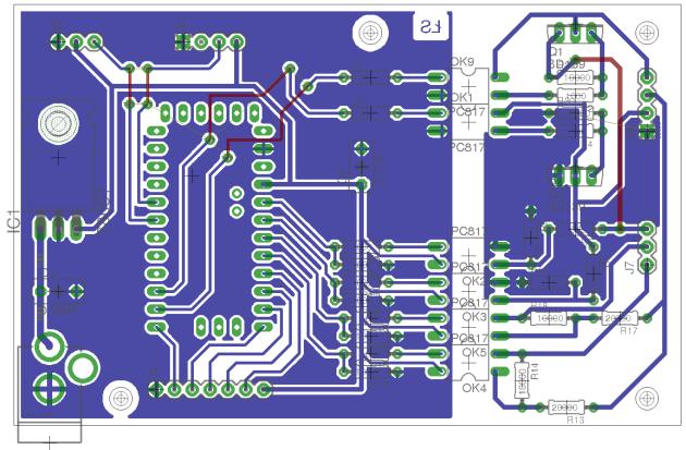 Projekt PCB - integracja z domofonem 4+n