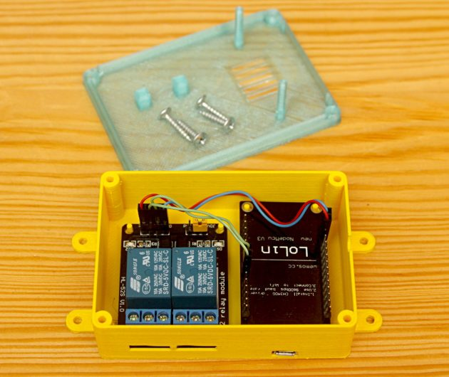 ESP8266 - sterowanie urządzeniami elektrycznymi